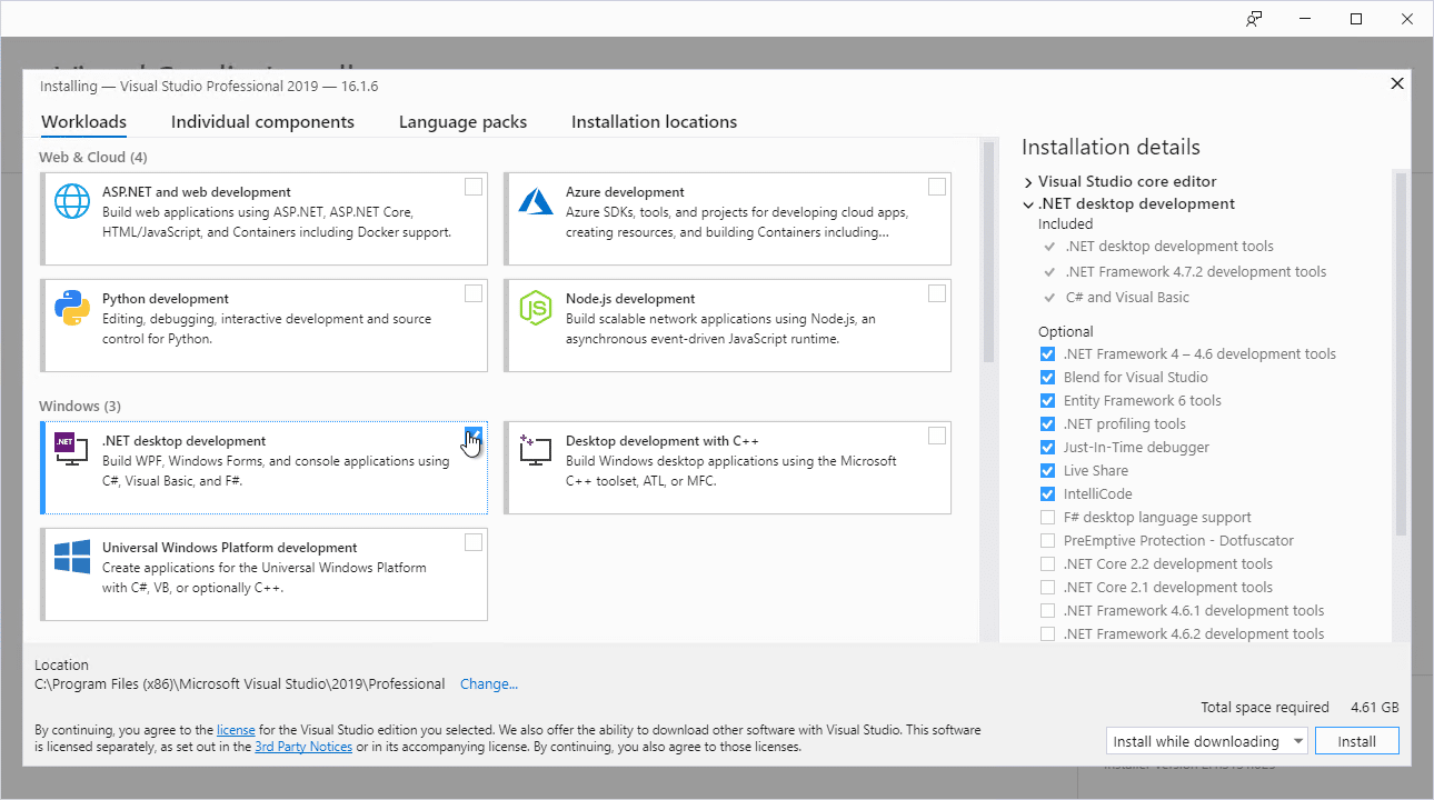 Update to Visual Studio 2019 for #MSDyn365FO 1