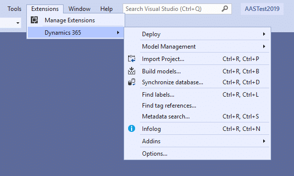 Update to Visual Studio 2019 for #MSDyn365FO 8