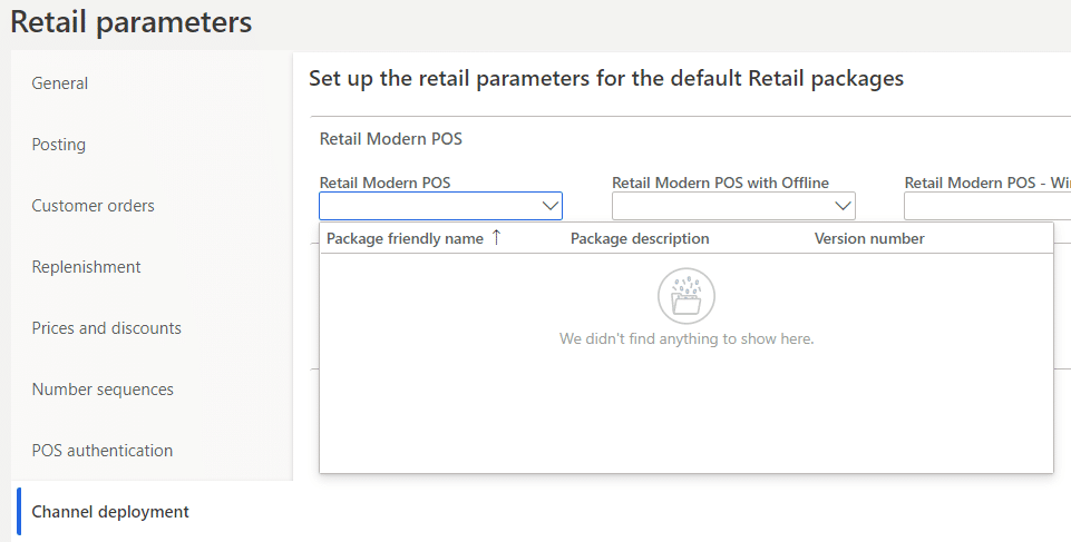 Manually deploy Retail packages for Microsoft Dynamics 365 for Finance and Operations 1