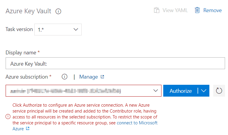 Secure your Azure Pipelines with Azure Key Vault 4