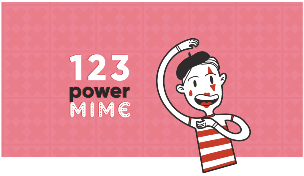 1 2 3 Power Mime!