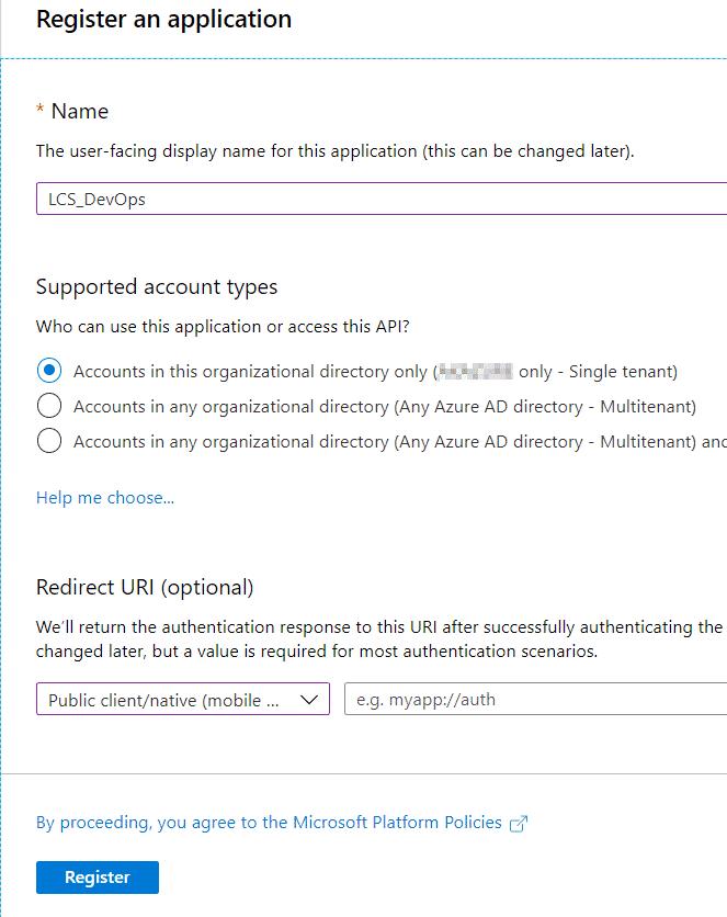 MSDyn365 y Azure DevOps ALM 31