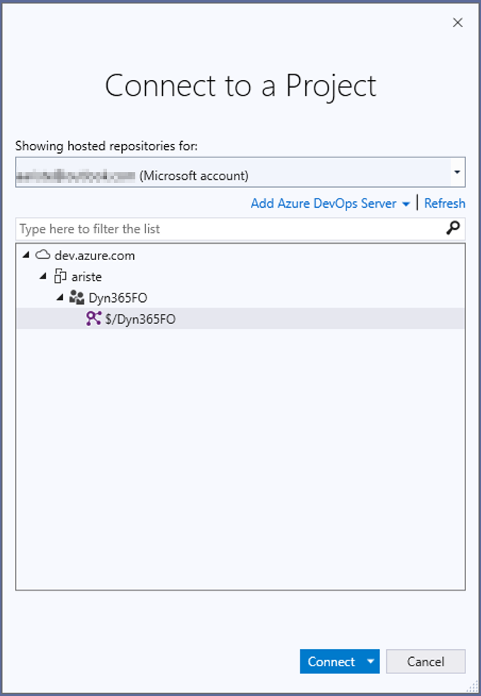 MSDyn365 y Azure DevOps ALM 5
