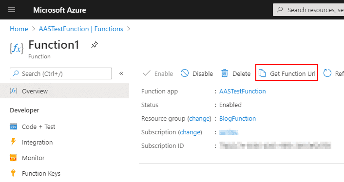 Azure functions & Dynamics 365 Finance and Operations 7