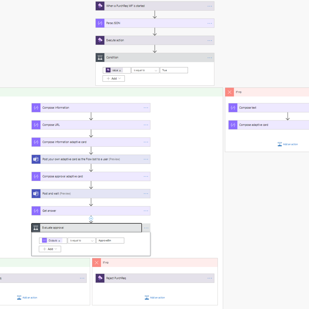 Workflow approvals in Teams using adaptive cards 2