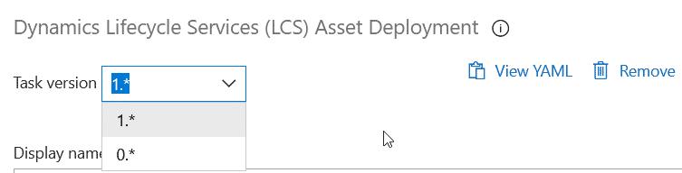 Azure DevOps asset deployment